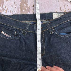 Diesel Jeans - Diesel Liv Dark Wash Stretch Jeans Skinny 27